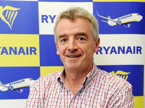 Michael O'Leary, CEO de Ryainair
