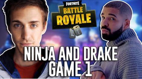 "Ninja and Drake played ""Fortnite: Battle Royale"" together on PlayStation 4, over the internet, and streamed it on Twitch. It broke Twitch streaming records by hundreds of thousands of viewers."