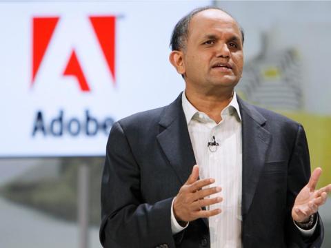 12. Shantanu Narayen, Adobe Systems