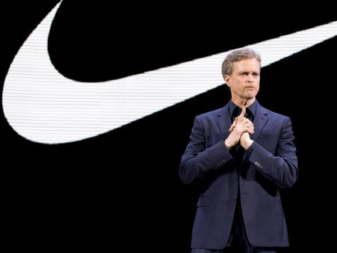 Mark Parker has served as Nike's CEO since 2006.