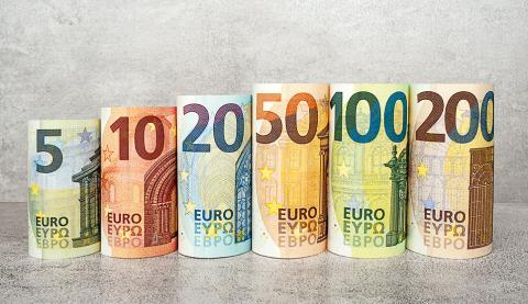 Los nuevos billetes de euro de la serie Europa