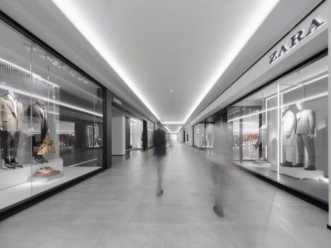 From the outside, the pilot stores do not look too dissimilar to a typical Zara store you might find in a mall. But don't be fooled — these secret locations are completely off-limits to the public.