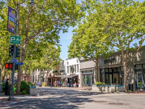 Palo Alto's economy is booming.