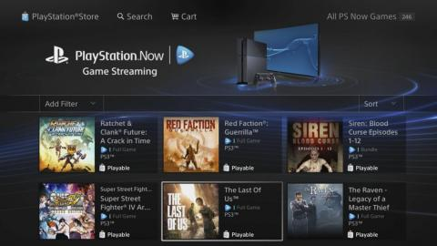 PlayStation Now ha ofrecido juegos en la nube durante años, pero no incluye los últimos.
