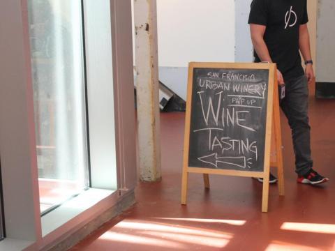 …improvisar eventos como catas de vino…
