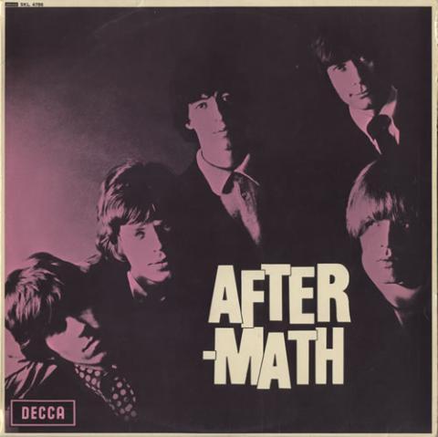 Portada de Aftermath, sexto disco de los Rolling Stones