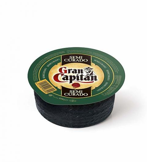 Un queso semicurado de 930 gramos Gran Capitán