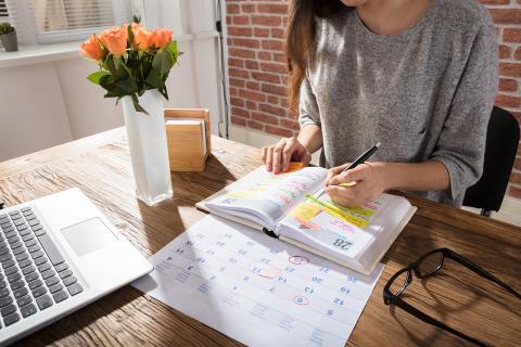 [RE] La agenda de escritorio es clave para la planificación