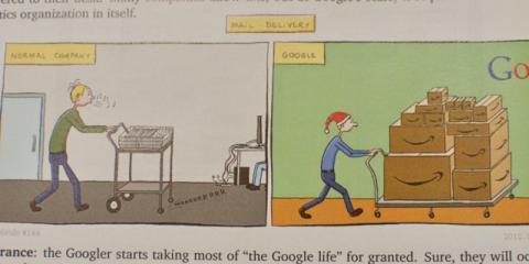 Cornet asegura que los trabajadores de Google están consentidos