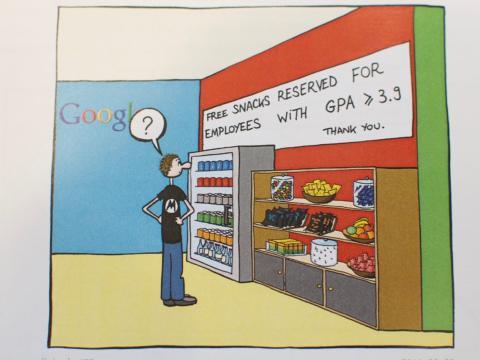 Manu Cornet satiriza todas las facetas de su día a día en Google