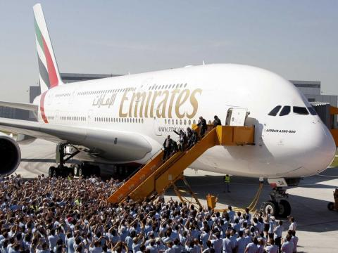 As a result, Emirates needs an aircraft that can carry a lot of passengers for very long distances — a perfect job for the A380.