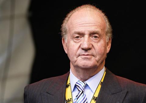 El rey emérito de España, Juan Carlos I