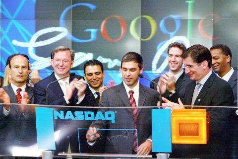 Salida a bolsa Google