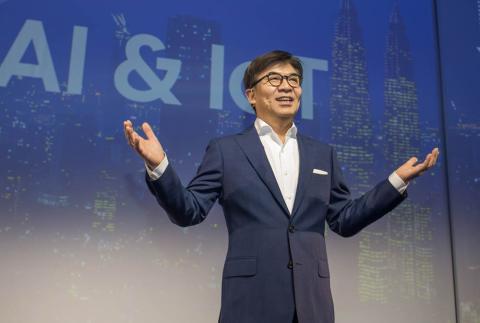 HS Kim, Presidente y CEO de la unidad de Consumer Electronics Division en Samsung Electronics