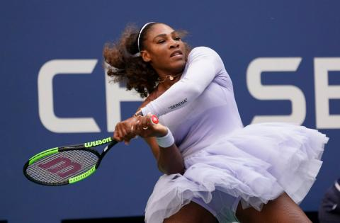 Serena Williams, en el US Open 2018