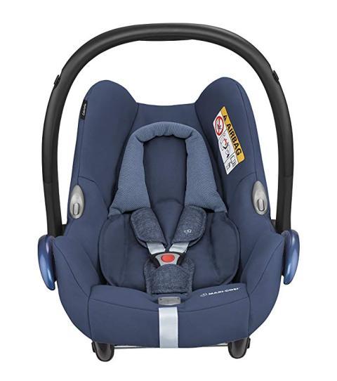 Una silla de bebé polivalente Cabriofix de Maxi-Cosi