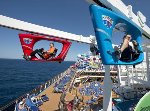 As is SkyRide, one of the ship's unique thrills.