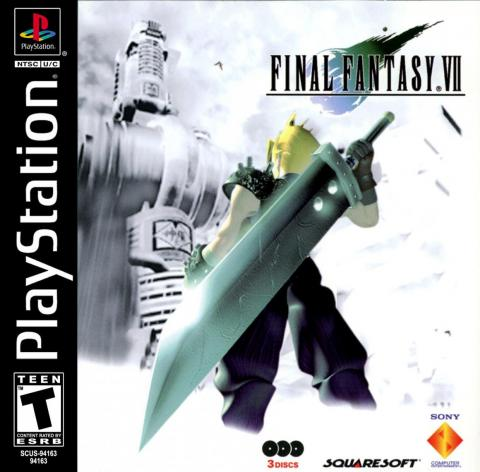 """One of the most iconic games on the PlayStation 1, """"Final Fantasy VII,"""" is a highlight of the PlayStation Classic's game lineup."""
