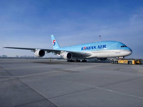 Soon, other global airlines, such as Korean Air ...