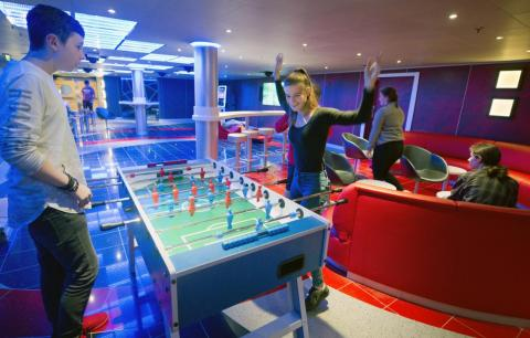 Teenagers can join in, too, and be entertained by games and hangout spots.