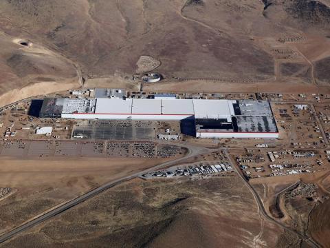 La Gigafactory de Tesla, en Reno, Nevada, ocupa casi 609.000 metros cuadrados.