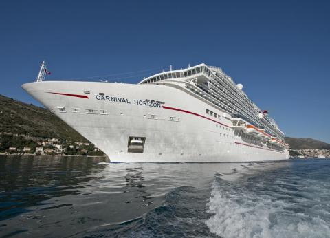 There is a 3,960 guest capacity with an additional 1,450 onboard crew number.