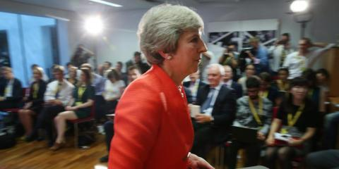 Theresa May's leadership is in crisis after being humiliated by EU leaders