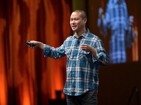 Tony Hsieh, CEO de Zappos.