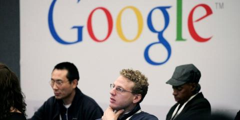 trabajadores Google