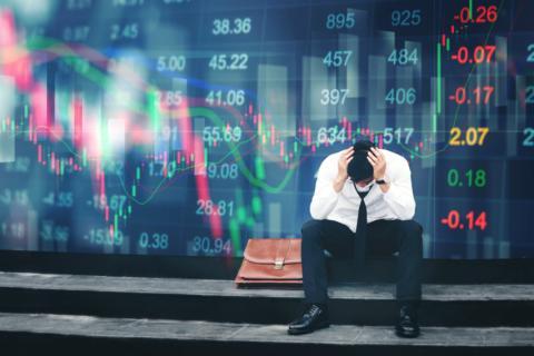 Trader mercados tras una mala jornada