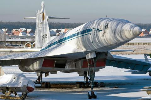 Tupolev TU144, el avión supersónico comercial de la URSS