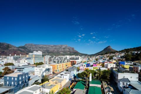 Vista de Ciudad del Cabo, en Sudáfrica