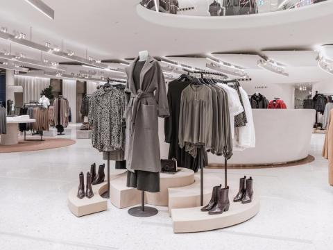 Zara has grown in popularity because of its ability to jump on trends quickly. It has often been accused of crossing the line between being inspired by a catwalk show or designer and actually copying them. This photograph shows a Zara store in Milan.