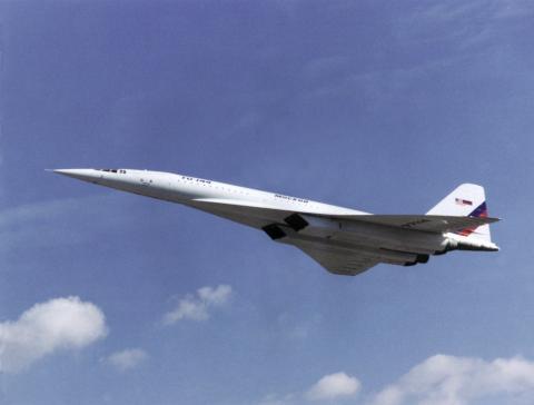 Vuelo del Tupolev TU144