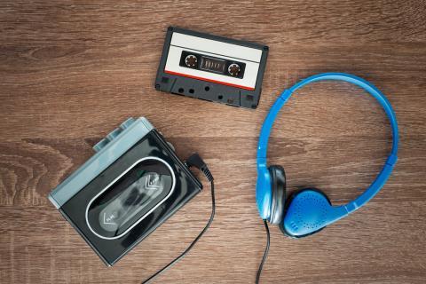 Walkman para escuchar música