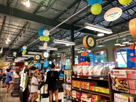 Whole Foods Amazon supermercado [RE]