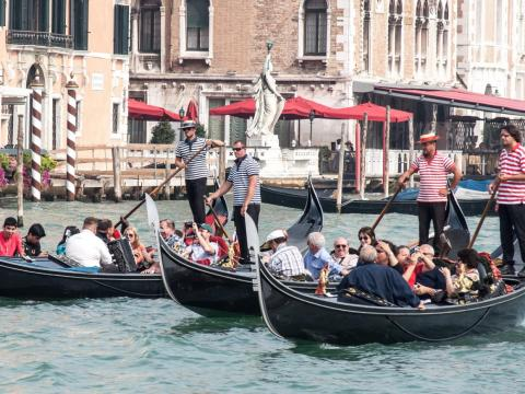 But you might pay $100 only to be squashed between boats filled with other tourists for 40 minutes.