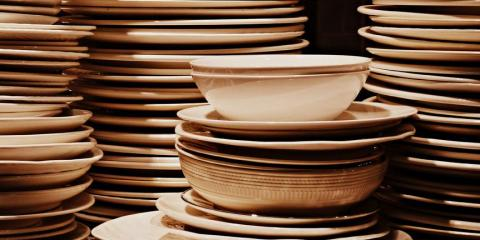 1. An avalanche of dishes and food containers