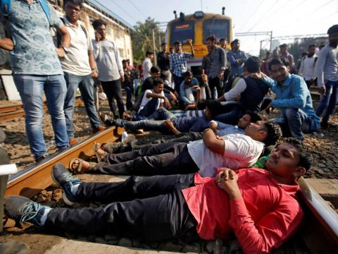 In 2017, a stampede at a Mumbai railway station killed 23 people and injured 39.
