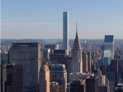 432 Park was completed in 2015 amid criticism from some New Yorkers who felt it looked ugly and out of place in the city skyline.