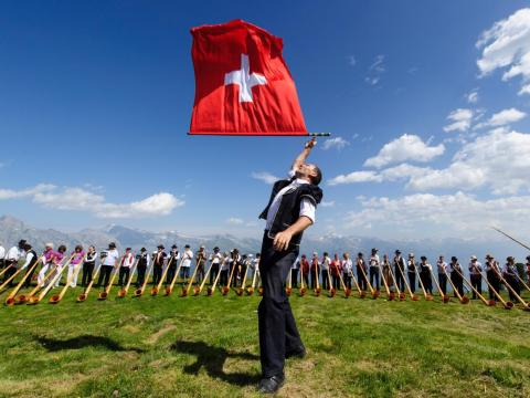 5. Switzerland has universal healthcare services too; citizens are required to hold health insurance. The healthy life expectancy is 71.9 years.