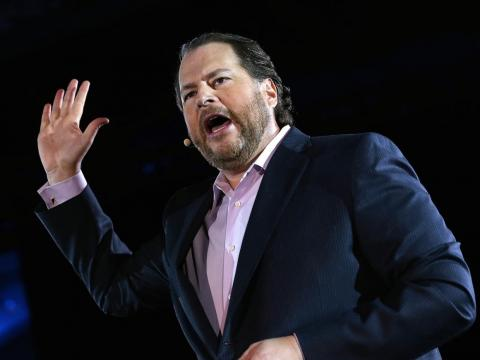 6. Marc Benioff, Salesforce