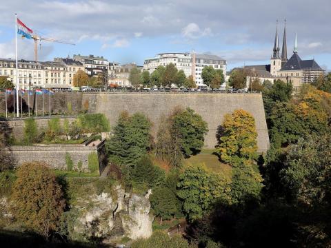 La ciudad de Luxemburgo.