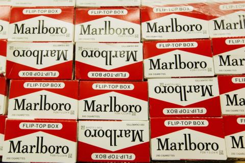 9. A pack of cigarettes