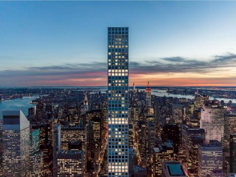 Floors 91 through 96 are referred to as penthouses because their layouts are different from the rest of the building and some are full floors, a representative for the developer told Business Insider.