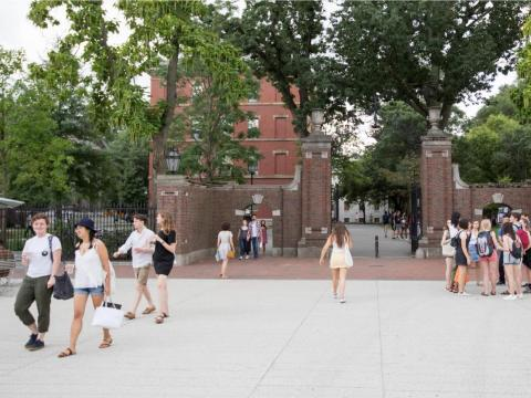 About 98% of students at Harvard live in housing owned, operated, or affiliated with the school.