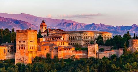 La Alhambra, vista desde el Albaicín