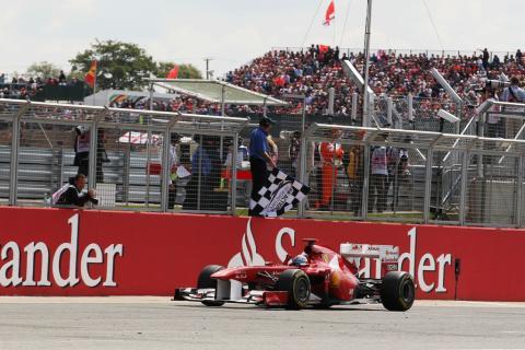 Alonso, en el GP de Gran Bretaña de 2011