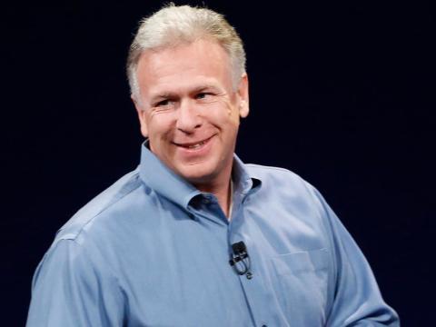 El mejor vendedor de Apple, Phil Schiller.