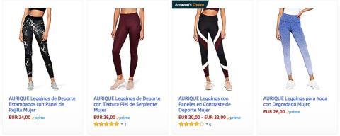 Aurique, ropa deportiva